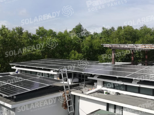 Ryan Agoncillo's 10 kWp Hybrid and Grid Tie System in San Juan