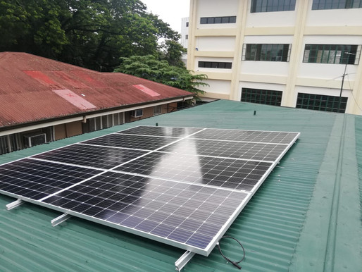 3 kWp Grid Tie Solar System Installation in Makati City