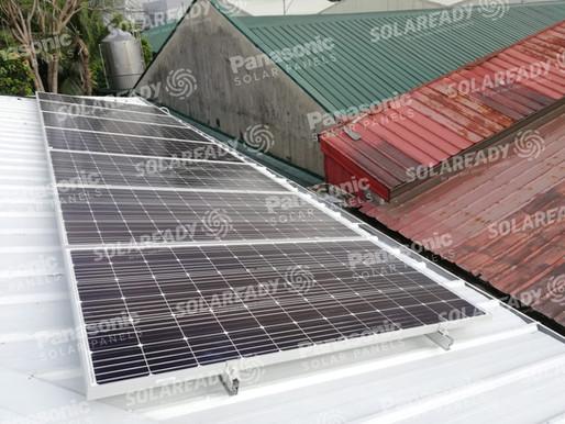 5.32 kWp Solar Grid Tie System in Pasig