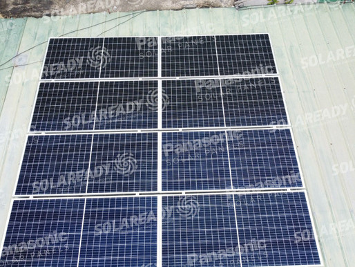 3 kW On-Grid system using REC panels in Paranaque