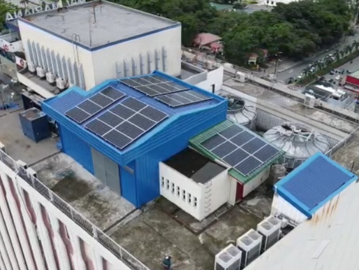 A Building Powered by Clean Energy