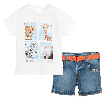 Safari Tee w/ Shorts