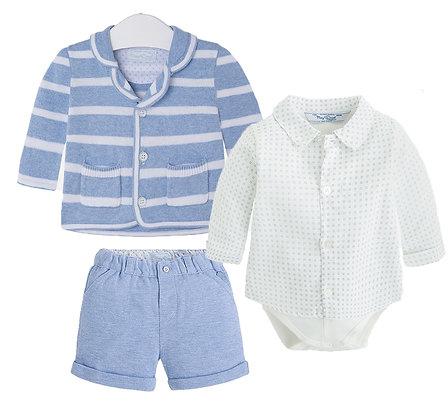 Sky Knit Jacket Set 3PC