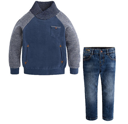 Sweater & Denim Set