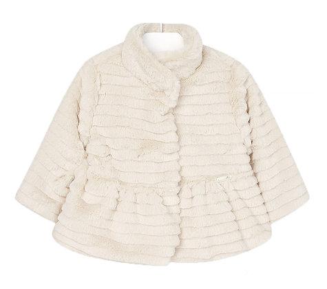 Beige Fur Coat