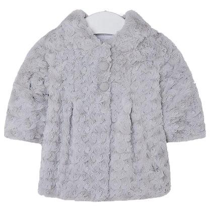 Rose Fur Coat - Grey
