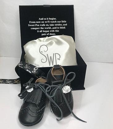 SWP Oxford Booties - Black