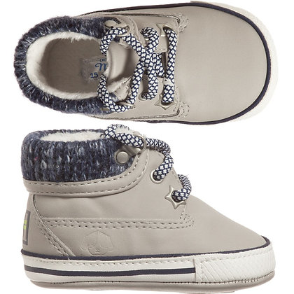 Lace Up Sneakers - Grey