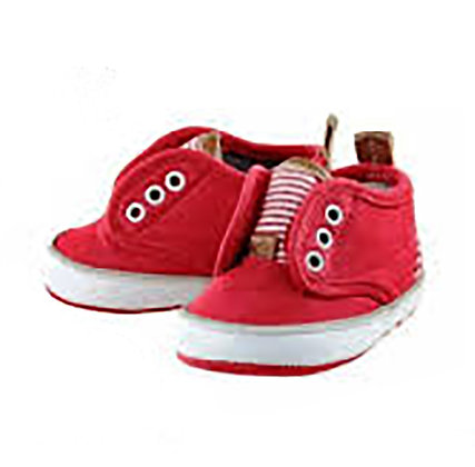 Baby Sneakers - Red