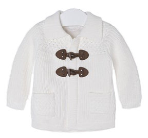 Knit Cardigan - White