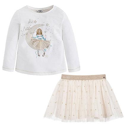 Stars Skirt Set