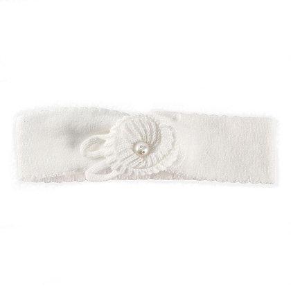 Soft Pearl Headband - White