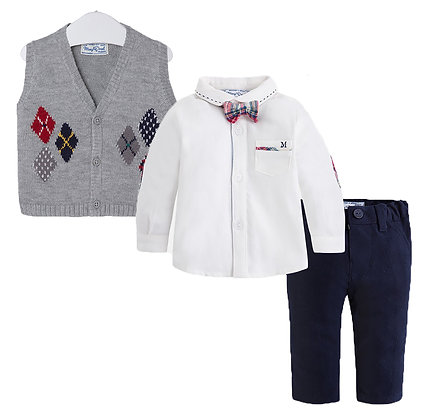 Sweater Vest & Pant Set