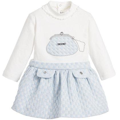 Sky Skirt Set