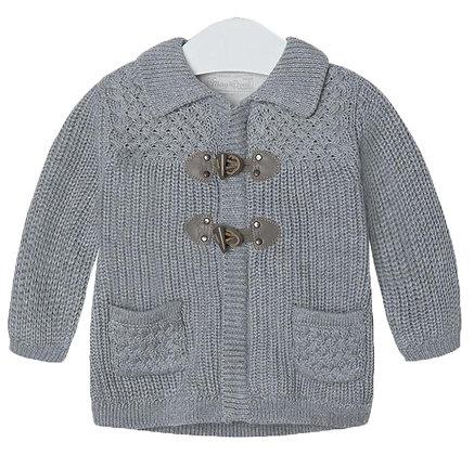 Knit Cardigan - Grey