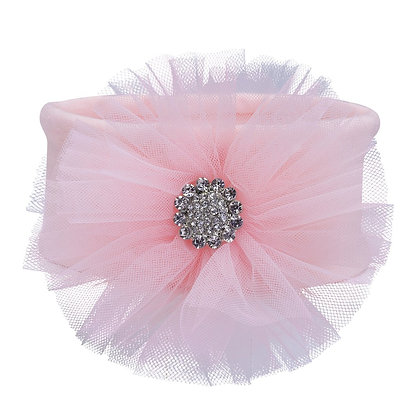 Tulle Bling Headband - Pink