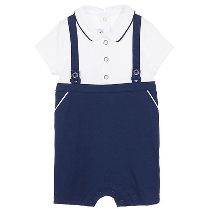 Plush Overall - Navy