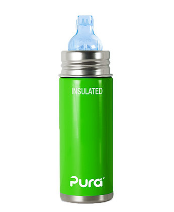 Stainless Steel Bottle - Green