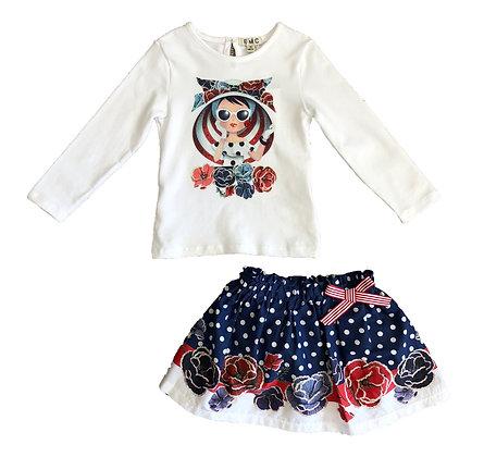 Pretty Girl Skirt Set