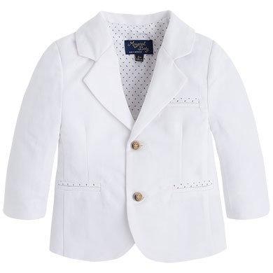 Linen Blazer - White