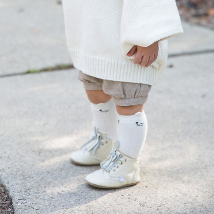 SWP Oxford Booties - Ivory