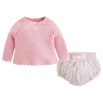 Pink Cheetah Bloomer Set