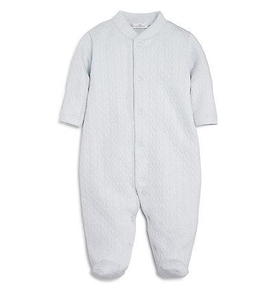 Cable Jacquard Pajama - Gray