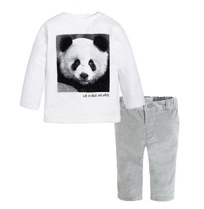 Grey Panda Set