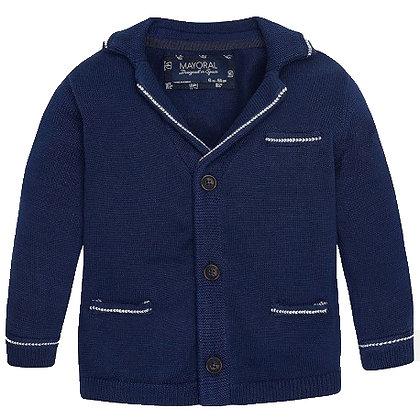 Knit Jacket - Navy