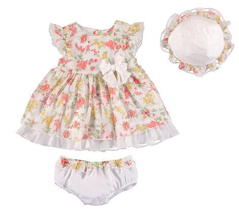 Floral Print Dress Set