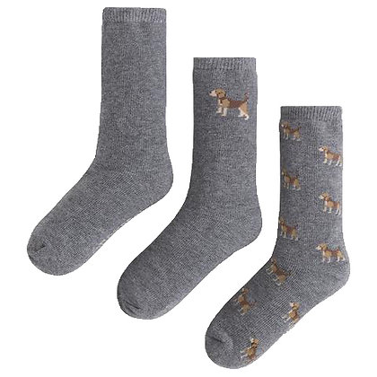 Puppy Socks Set - 3PC