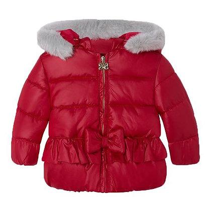 Puff Coat - Red
