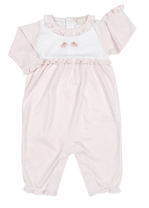 Scattered Pals Playsuit - Pink