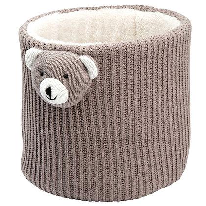 Crochet Bin - Bear
