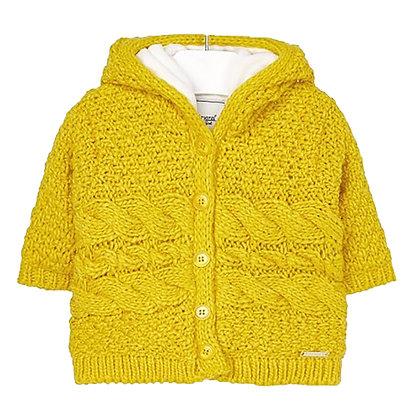 Mustard Hoodie Jacket