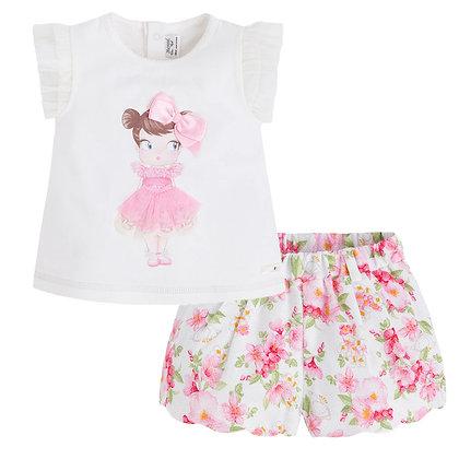 Doll Shirt w/Shorts