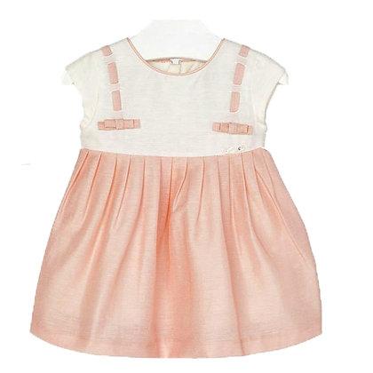 Baby Rose Linen Dress