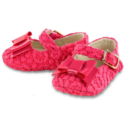 Lace Bow Maryjanes