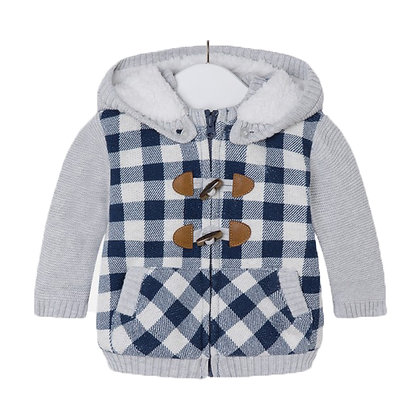 Checkered Zip Jacket