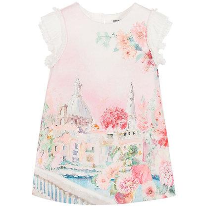 Baby Rose Landscape Dress