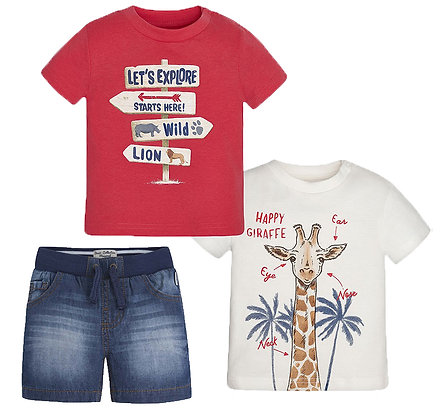 Shorts & Tees Set
