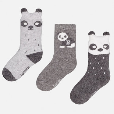 Panda Socks Set - 3PC