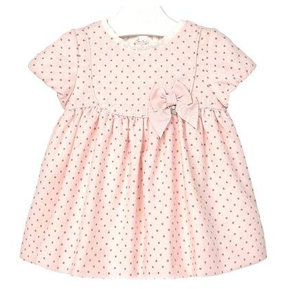 Polka Dot Dress - Rose