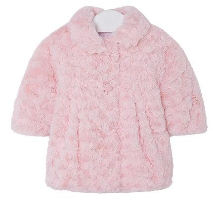 Rose Fur Coat - Pink
