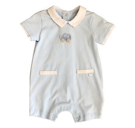 Cotton Car Romper
