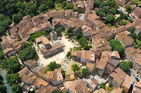 village de Correns