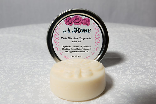 Lotion Bar - White Chocolate Peppermint