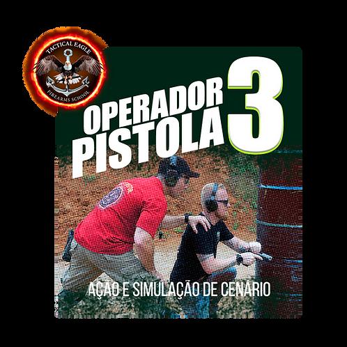 BREVE!!! -Operador de Pistola Nível3(Cal .380acp)