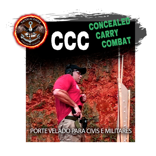 28 e 29/maio- Concealed Carry - Porte Velado(Clube The Bullets em Navegantes/SC)