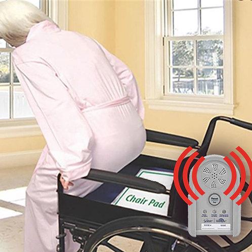 Almohadilla (pad) con sensor inalámbrico para la silla (Sistema de monitoreo de